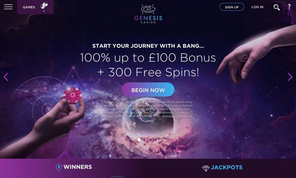 Genesis Casino Bonus Codes 2021