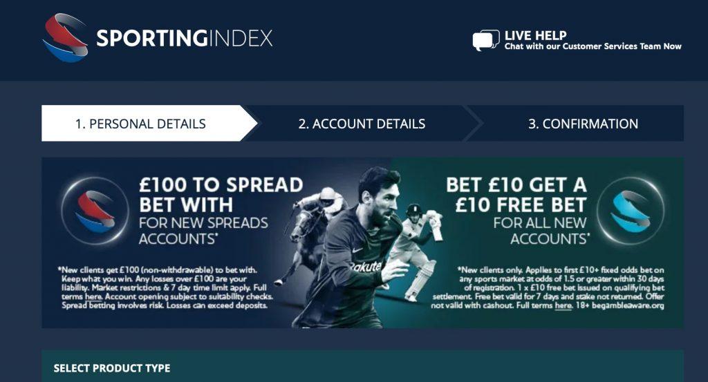 sports index betting